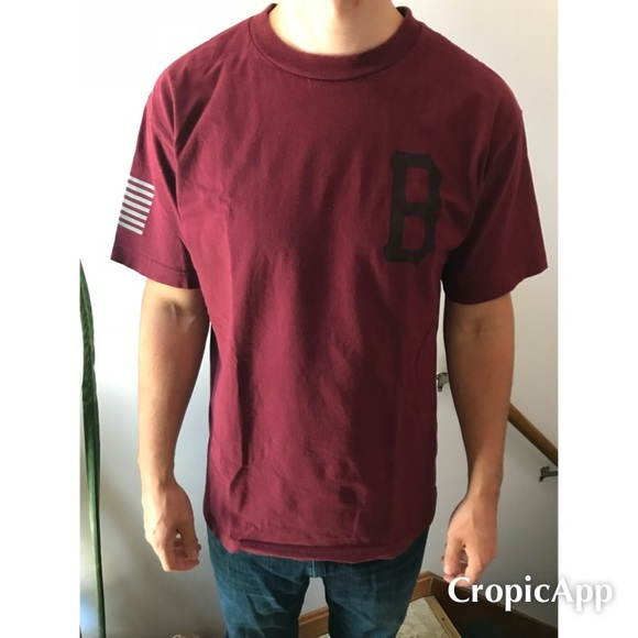 Black Scale Shirts Crescent Maroon Tee Poshmark